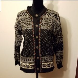 Dale of Norway small nordic sweater 100% wool